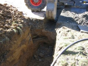 Leitungsquerungen erschweren den Kanalbau