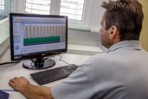 Daten-Dokumentation aller wichtigen Betriebs-Parameter am PC